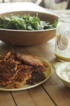 Turnip & Potato Pancakes