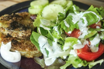fried green tomato lunch