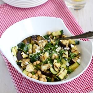 eggplant mint salad