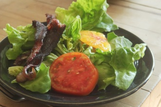 farm lunch blt salad