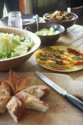 farm table lunch