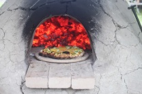 kate's pizza oven fire
