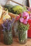 lavendar and rosemary