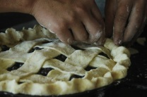 pie pinching crust