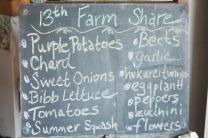 thirteenth farm share