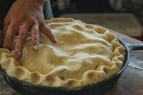 pinching pie