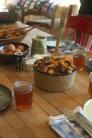roasted vege farm lunch