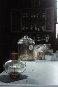 apothecary counter