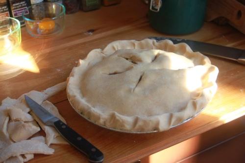apple pie pre bake