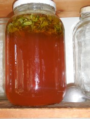 Finished Sacred Basil Honey